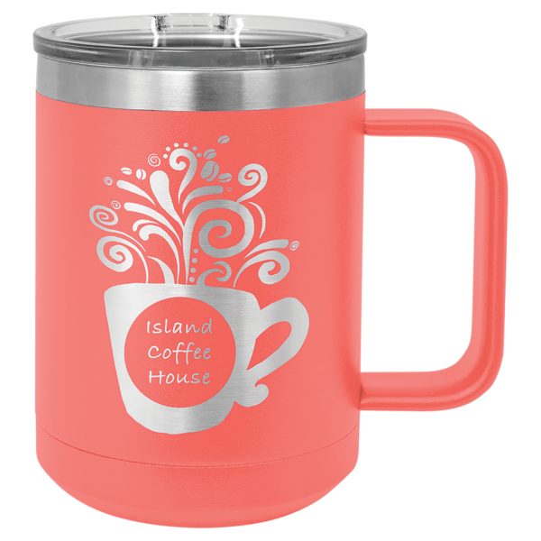 15 oz. Polar Camel Vacuum Insulated Mug w/ Slider Lid 9