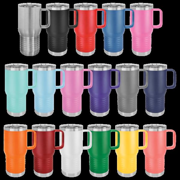 15 oz. Polar Camel Vacuum Insulated Mug w/ Slider Lid 28
