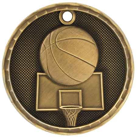 """2"""" 3D Baseball/Softball Medal 28"""