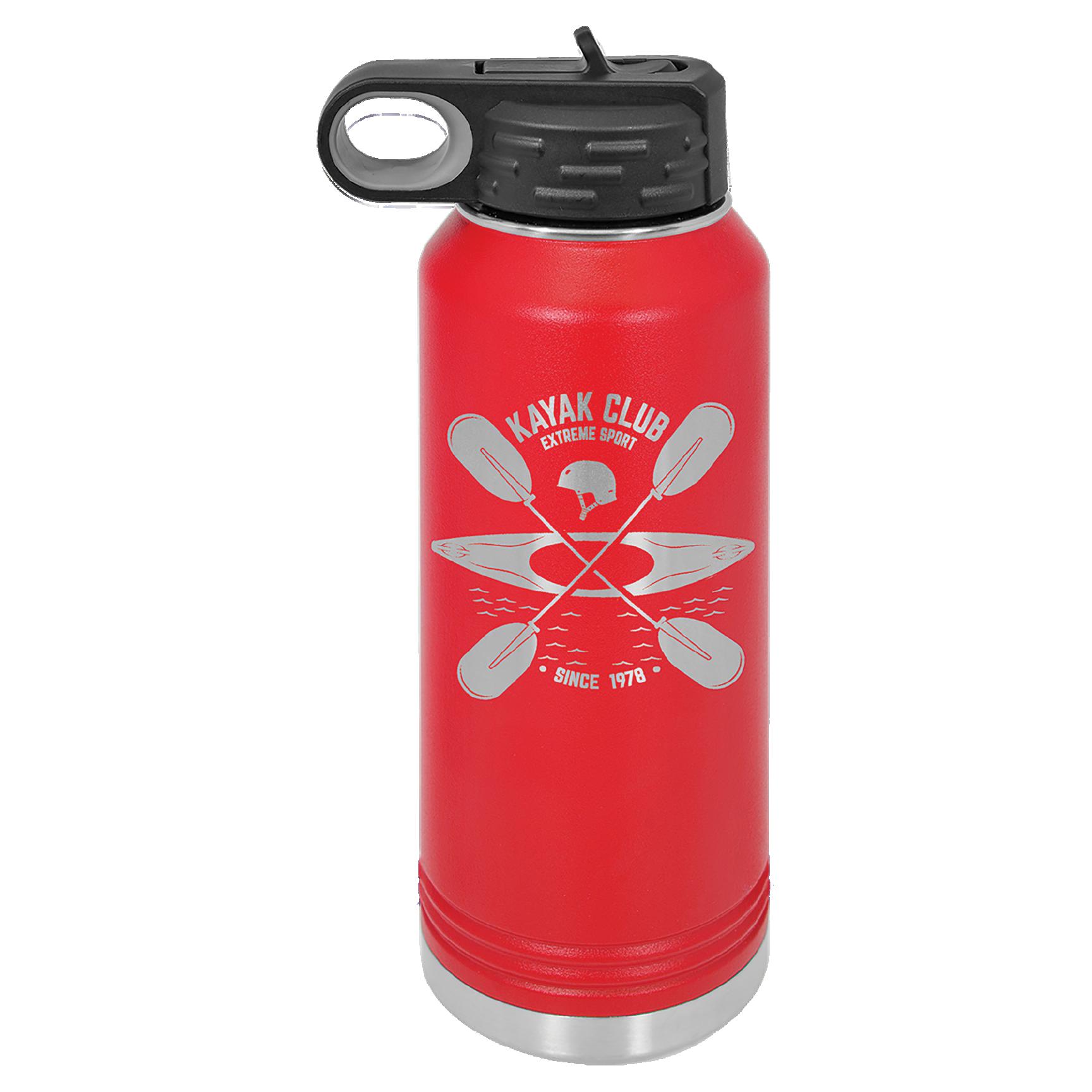 40 oz. Polar Camel Water Bottle (Copy) - Red