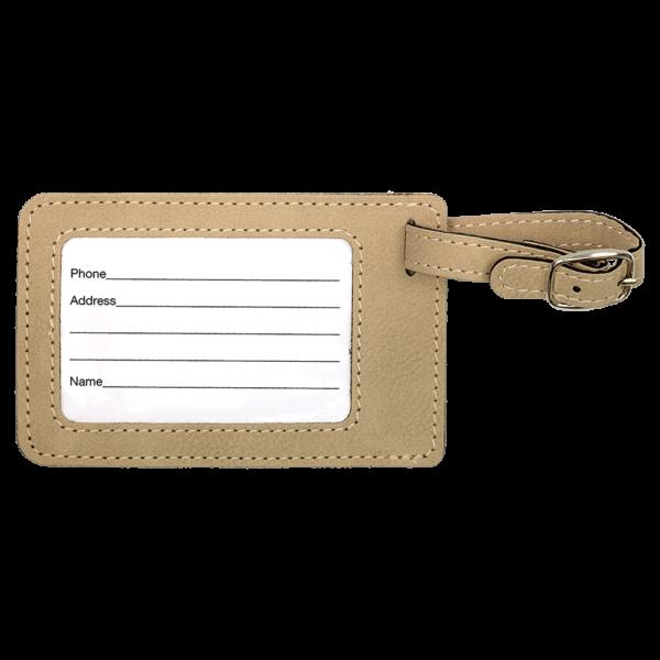 Bag Tag - Leatherette 5