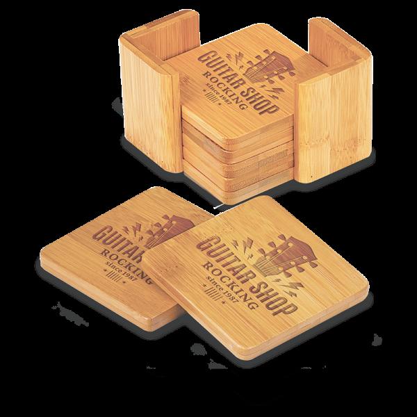 Coaster Set (Bamboo)