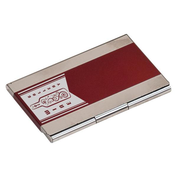 Laserable Business Card Holder - Black 1