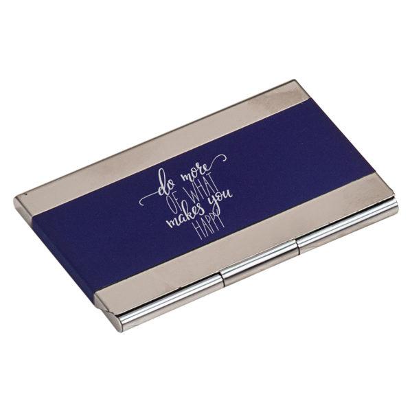 Laserable Business Card Holder - Black 2