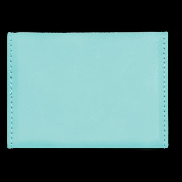 Laserable Leatherette Hard Business Card Holder 2