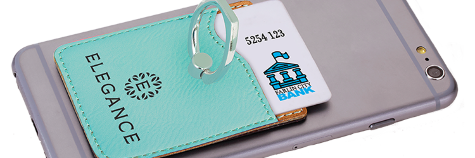 Phone Wallet with Ring 12