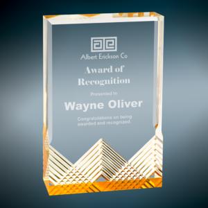 Apex Mirage Award - 3.5 x 5, Blue 5