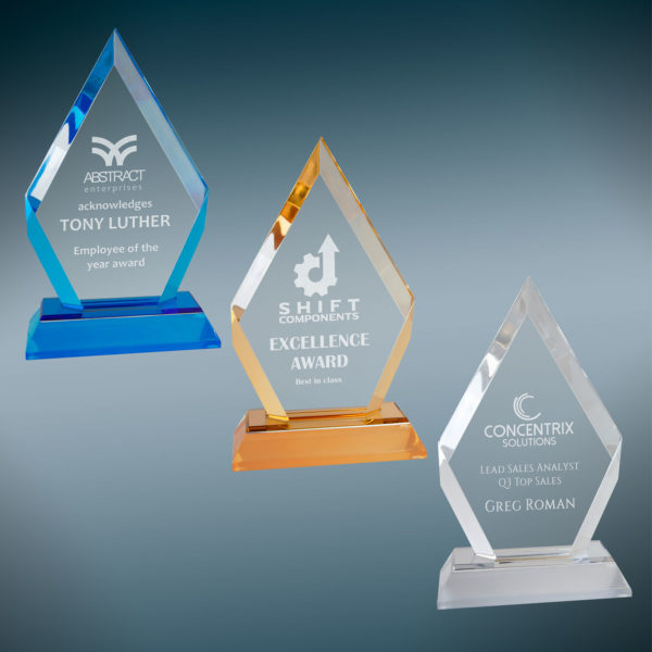 Diamond Acrylic Award 9