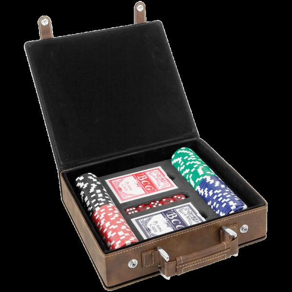 Poker Sets (Leatherette) 2