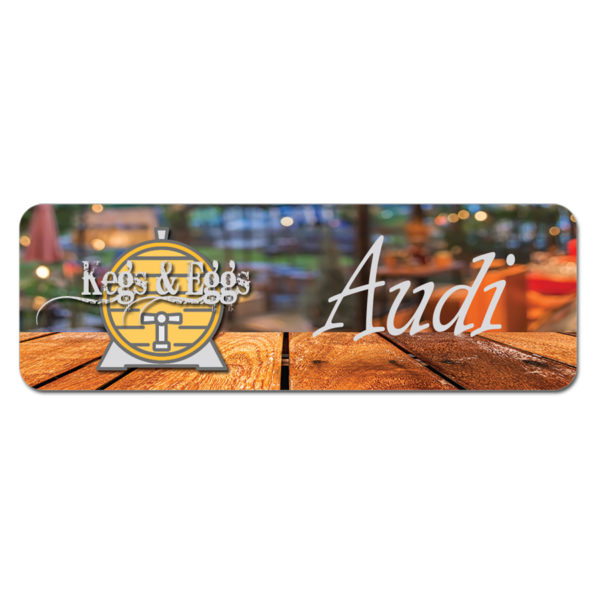 Name Badges - Sublimated Plastic